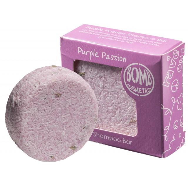 Sampon solid vegan Purple Passion Bomb Cosmetics 50g