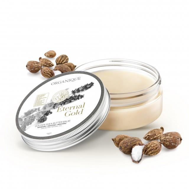 Balsam corporal cu shea si aur Eternal Gold Organique 200 ml