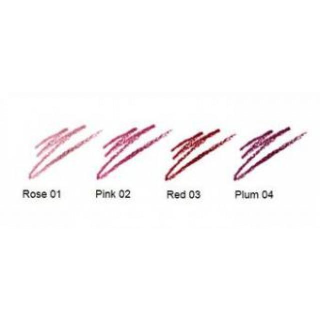 Creion bio pentru conturul buzelor nuanta Plum 04 Lavera 4g