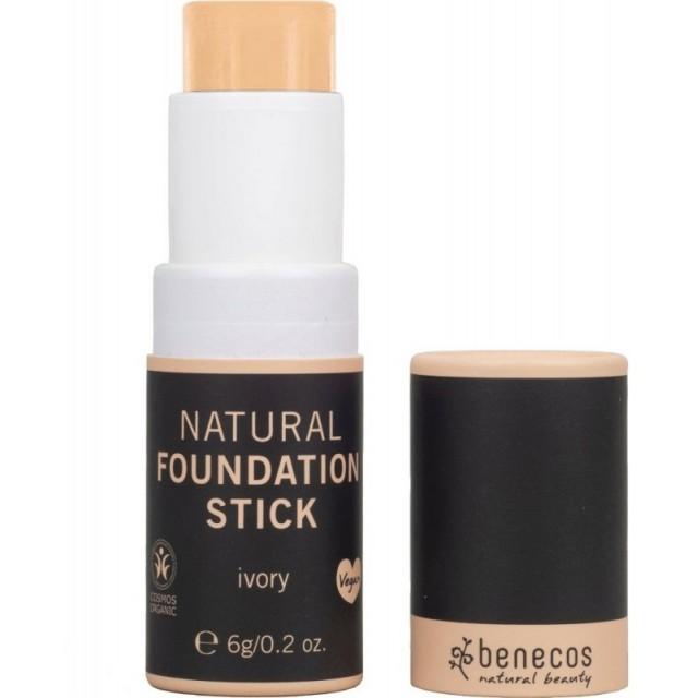 Foundation stick bio, Ivory (deschis) - Benecos