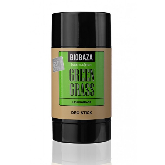Deodorant stick natural Green Grass, lemongrass - BIOBAZA