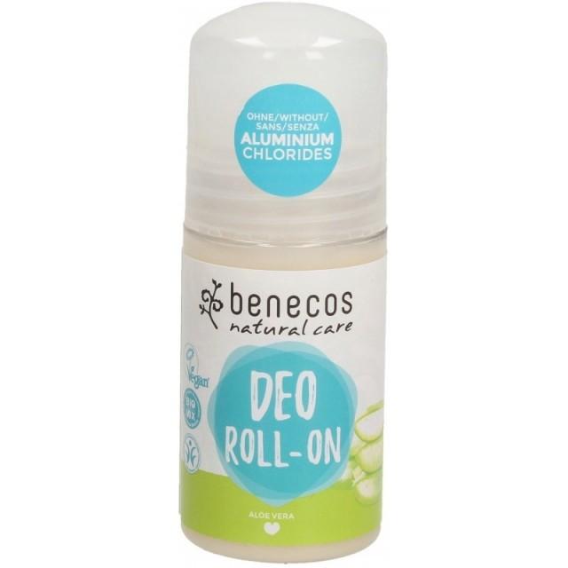 Deodorant roll-on bio cu Aloe Vera - Benecos