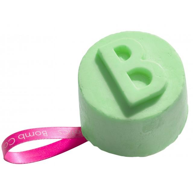 Gel de dus solid Lime &Shine Bomb Cosmetics 130 g